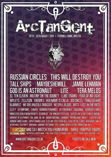 ninehertz does ArcTanGent Festival: Ones to watch.